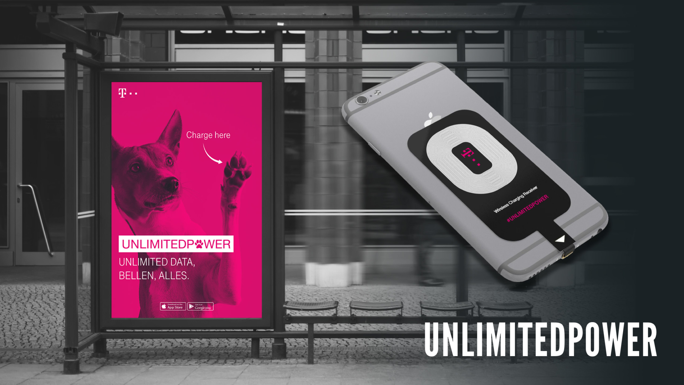 T-Mobile – Unlimited power